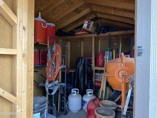 4721 W Aster Dr Backyard Storage Shed 2